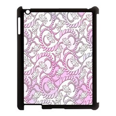 Floral Pattern Background Apple Ipad 3/4 Case (black) by BangZart
