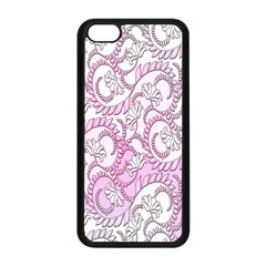 Floral Pattern Background Apple Iphone 5c Seamless Case (black) by BangZart