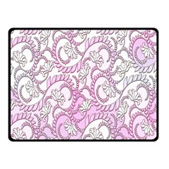 Floral Pattern Background Double Sided Fleece Blanket (small)  by BangZart