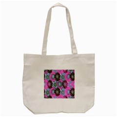 Floral Pattern Background Tote Bag (cream) by BangZart