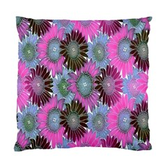 Floral Pattern Background Standard Cushion Case (one Side) by BangZart