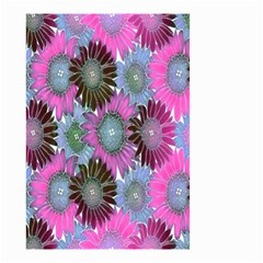 Floral Pattern Background Small Garden Flag (two Sides) by BangZart