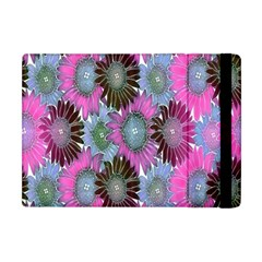 Floral Pattern Background Apple Ipad Mini Flip Case by BangZart
