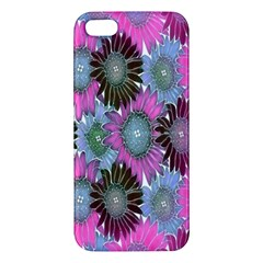 Floral Pattern Background Iphone 5s/ Se Premium Hardshell Case by BangZart