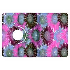 Floral Pattern Background Kindle Fire Hdx Flip 360 Case by BangZart