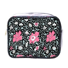 Oriental Style Floral Pattern Background Wallpaper Mini Toiletries Bags by BangZart