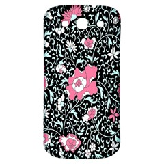 Oriental Style Floral Pattern Background Wallpaper Samsung Galaxy S3 S Iii Classic Hardshell Back Case by BangZart