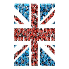 Fun And Unique Illustration Of The Uk Union Jack Flag Made Up Of Cartoon Ladybugs Shower Curtain 48  X 72  (small)  by BangZart