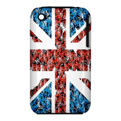 Fun And Unique Illustration Of The Uk Union Jack Flag Made Up Of Cartoon Ladybugs Iphone 3s/3gs by BangZart