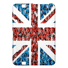 Fun And Unique Illustration Of The Uk Union Jack Flag Made Up Of Cartoon Ladybugs Kindle Fire HD 8.9