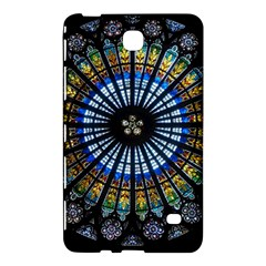 Stained Glass Rose Window In France s Strasbourg Cathedral Samsung Galaxy Tab 4 (8 ) Hardshell Case  by BangZart
