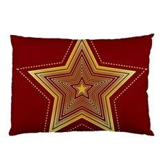 Christmas Star Seamless Pattern Pillow Case (two Sides) by BangZart