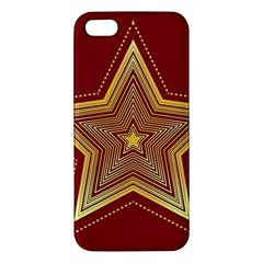 Christmas Star Seamless Pattern Iphone 5s/ Se Premium Hardshell Case by BangZart