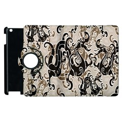Dragon Pattern Background Apple Ipad 2 Flip 360 Case by BangZart