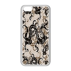 Dragon Pattern Background Apple Iphone 5c Seamless Case (white) by BangZart