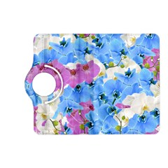 Tulips Floral Pattern Kindle Fire Hd (2013) Flip 360 Case by paulaoliveiradesign