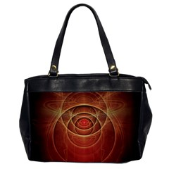 The Rusty Red Fractal Scarab Of Fiery Old Man Ra Office Handbags by beautifulfractals
