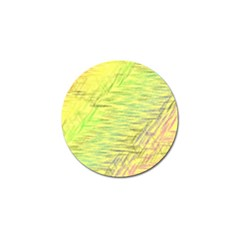 Paint On A Yellow Background                        Golf Ball Marker (4 Pack) by LalyLauraFLM