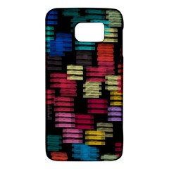 Colorful Horizontal Paint Strokes                   Htc One M9 Hardshell Case by LalyLauraFLM