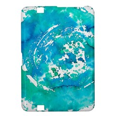 Blue Watercolors Circle                    Samsung Galaxy Premier I9260 Hardshell Case by LalyLauraFLM