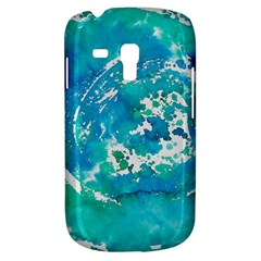 Blue Watercolors Circle                    Samsung Galaxy Ace Plus S7500 Hardshell Case by LalyLauraFLM