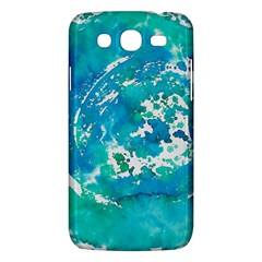 Blue Watercolors Circle                    Samsung Galaxy Duos I8262 Hardshell Case by LalyLauraFLM