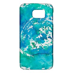 Blue Watercolors Circle                    Htc One M9 Hardshell Case by LalyLauraFLM