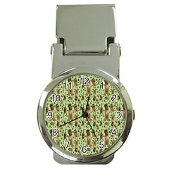 Puppy Dog Pattern Money Clip Watches by BangZart