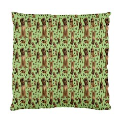 Puppy Dog Pattern Standard Cushion Case (one Side) by BangZart