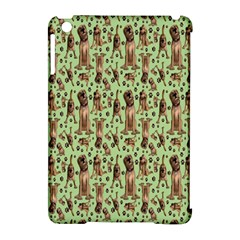 Puppy Dog Pattern Apple Ipad Mini Hardshell Case (compatible With Smart Cover) by BangZart