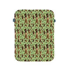 Puppy Dog Pattern Apple Ipad 2/3/4 Protective Soft Cases by BangZart