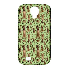 Puppy Dog Pattern Samsung Galaxy S4 Classic Hardshell Case (pc+silicone) by BangZart