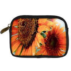 Sunflower Art  Artistic Effect Background Digital Camera Cases by BangZart