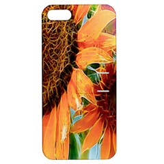 Sunflower Art  Artistic Effect Background Apple Iphone 5 Hardshell Case With Stand by BangZart