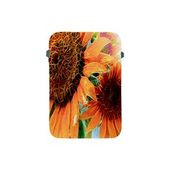 Sunflower Art  Artistic Effect Background Apple Ipad Mini Protective Soft Cases by BangZart