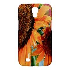 Sunflower Art  Artistic Effect Background Samsung Galaxy Mega 6 3  I9200 Hardshell Case by BangZart