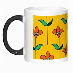 Small Flowers Pattern Floral Seamless Pattern Vector Morph Mugs by BangZart