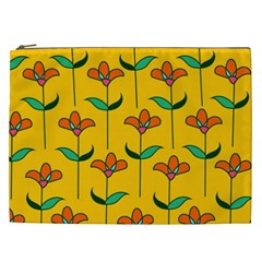 Small Flowers Pattern Floral Seamless Pattern Vector Cosmetic Bag (xxl)  by BangZart