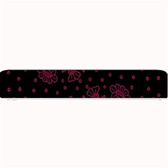 Pink Floral Pattern Background Wallpaper Small Bar Mats by BangZart