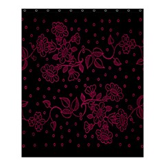 Pink Floral Pattern Background Wallpaper Shower Curtain 60  X 72  (medium)  by BangZart