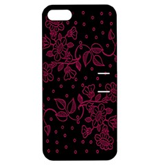 Pink Floral Pattern Background Wallpaper Apple Iphone 5 Hardshell Case With Stand by BangZart