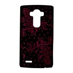 Pink Floral Pattern Background Wallpaper Lg G4 Hardshell Case by BangZart