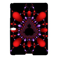 Fractal Red Violet Symmetric Spheres On Black Samsung Galaxy Tab S (10 5 ) Hardshell Case  by BangZart