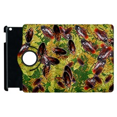Cockroaches Apple Ipad 2 Flip 360 Case by SuperPatterns