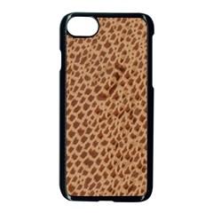 Giraffe Pattern Animal Print  Apple Iphone 7 Seamless Case (black) by paulaoliveiradesign
