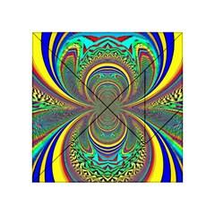 Hot Hot Summer B Acrylic Tangram Puzzle (4  X 4 ) by MoreColorsinLife