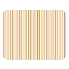 Stripes Pink And Green  Line Pattern Double Sided Flano Blanket (large)  by paulaoliveiradesign