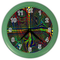 Hot Hot Summer D Color Wall Clocks by MoreColorsinLife