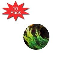 A Seaweed s Deepdream Of Faded Fractal Fall Colors 1  Mini Magnet (10 Pack)  by beautifulfractals