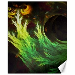 A Seaweed s Deepdream Of Faded Fractal Fall Colors Canvas 16  X 20   by beautifulfractals